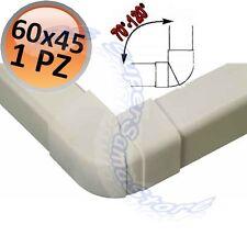 3S ANGOLO ESTERNO REGOLABILE 70°-120° per CANALINA 60x45 cm CONDIZIONAMENTO New