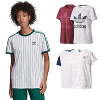 adidas Originals Big Trefoil Tee Damen-T-Shirt Boyfriend Top Oberteil Oversize