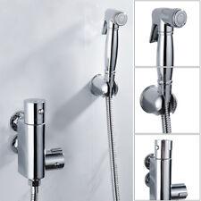 Toilette thermostatique douche bidet valve kit laiton avec tête de pulvérisation