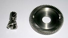 MANFISH STAINLESS STEEL GEARS 6.3:1 ULTRA HIGH SPEED FITS AKIOS CSM/CTM 555/656