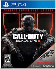 Call Of Duty: Black Ops 3 Zombie Chronicles Ed (PlayStation 4)Tracking and crush