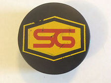 Vintage Official Cooper Hockey Puck CZ2 SG Logo Czechoslovakia