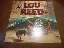 LOU REED SOLO DEBUT RCA LSP 4701 STEVE HOWE RICK WAKEMAN CALEB QUAYE RARE