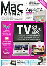 MAC FORMAT Magazine #262 July 2013 TV ON YOUR MAC + iPad iPhone iPod touch @NEW@