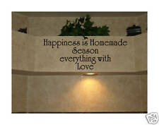 kitchen quote saying vinyl lettering decal decor art