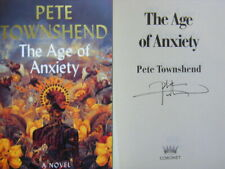 Signed Book The Age of Anxiety by Pete Townshend Hbk 1st Edition 2019 The Who