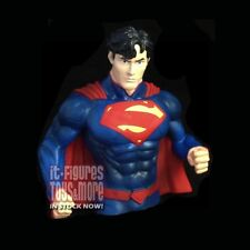 DC Comics Coin Bank PX New 52 SUPERMAN Plastic Vinyl Bust IN STOCK NOW!