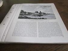 Frankfurt Archiv 4 Geschichte 2045 Enrtwurf Goethedenkmal 1822 Radl
