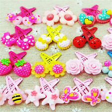 Wholesale 10 pcs Mix  Assorted Baby Kids Girls HairPin Hair Clips Jewelry sweet
