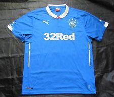 GLASGOW RANGERS home shirt jersey PUMA 2014-2015 Scottish The Gers adult SIZE XL