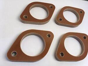 Phenolic Spacer Kit - Reduce Intake Temps! Weber DCOE 42mm 4 spacers
