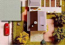 Pathway 210 x 148 - 3 x 2 décor feuilles - Busch 7036 - F1
