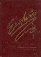 """REPRINT: 1989 Odessa-Montour High School Yearbook - Odessa New York """"Odessanean"""""""