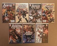Avengers Invaders Variant Lot 1-7 Ross Finch Granov Deodato Davis Ferry Coipel