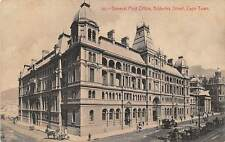 CAPE TOWN, SOUTH AFRICA, GENERAL POST OFFICE, ADDERLEY STREET, dated 1916