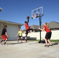 Lifetime Portable Shatterproof Basketball Hoop 50in  Backboard Court System