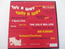 ELLA JENKINS - This-A-Way-That-A-Way - Folkways FC7546 - LP