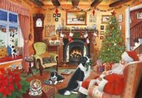 House of Puzzles 1000 piece jigsaw puzzle Me Too Santa New & Sealed