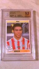Tarjeta De Novato Raro Ronaldo-Panini Voetbal 95-BGS 9.5
