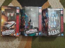 Transformers Chromia FastTrack Wheeljack Lot