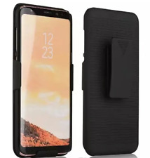 Vertical Loading Samsung Galaxy S8 Slim Shell Case Cover Belt Clip Holster