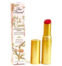 TOO FACED La Creme Color Drenched LIPSTICK Mean Girls .11Oz FULL SZ NEW FREESHIP