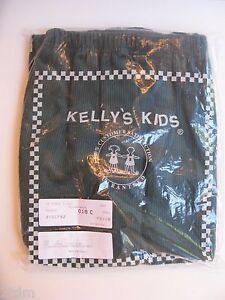New in Bag Kelly's Kids Boy Elastic Waist Corduroy Pants Dark Green size 10