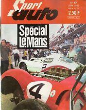 SPORT AUTO 17 1963 24H DU MANS HONDA S500 HILLMAN IMP TARGA FLORIO RALLYE TULIPE
