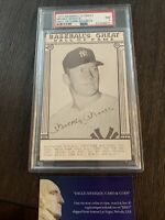 1977 Baseball's Great Mickey Mantle Hall of Fame Exhibits PSA 7 NM EACC210119107