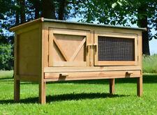 Zooprimus❤ Cage Clapier Enclos Lapin Rongeurs extérieur bois Hasi 118x45x69 cm