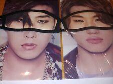 Big Bang Eye Mask Taeyang GDRAGON official kpop