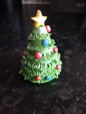 Edible Christmas Tree Cake Topper Decoration
