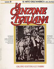 TRIO LESCANO NUCCIA NATALI CARLA BONI  La Canzone italiana 8 con FASCICOLO
