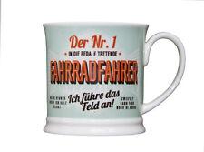 Fahrrad Becher DER NR. 1 FAHRRADFAHRER Retrobecher Kaffeebecher von GlasXpert
