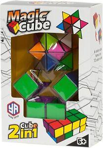 Magic Cube Geometric 3D Puzzle for Creativity & Imagination