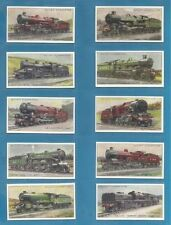 Reproduction Railway/Trains Collectable Cigarette Cards