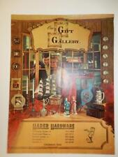 VINTAGE FALL 1969 OUR GIFT GALLERY GIFT CATALOG MID CENTURY MODERN GOODS