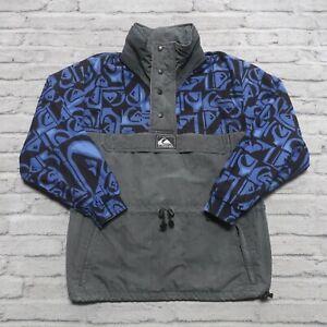 Vintage 80s Quicksilver Pullover Jacket Size M World Force Surf