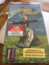 New The Sound Of Music Julie Andrews 2 VHS Tapes Plus Audio Cassette Soundtrack