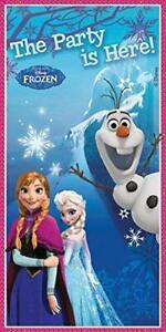 Disney Frozen Door Banner -  Elsa - Anna - Olaf - Party