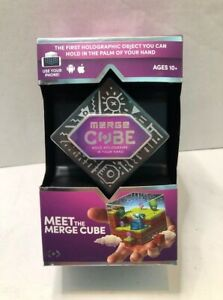 Merge Cube Holograms in Your Hand Virtual Game Toy for IOS & Android Apps Tablet