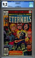 Eternals #13 CGC 9.2 White Pages Marvel
