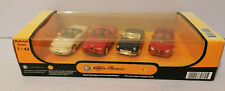 NEW-RAY 1:43 SCALE die cast Model Cars x 4 Alfa Romeo and Mercedes Benz