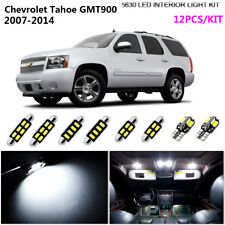 12Pc 5630 LED Xenon White Interior Light Kit Fit For 2007-2014 Chev Tahoe GMT900
