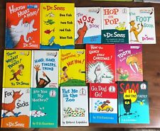 Lot 15 DR. SEUSS Bright & Early HB books Horton Hears a Who Fox in Socks Foot