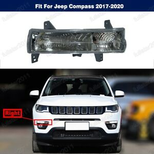 1Pcs Front Bumper Turn Signal Light Lamp Right For Jeep Compass 2017-2020
