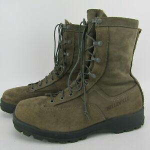 BELLEVILLE 675ST GORE TEX Steel Toe VIBRAM Cold Weather EH Boot Sage 11