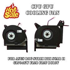 New CPU GPU Cooling Fan For Asus ROG Strix RTX SCAR II GL704GW FL2D FL2F DC12V
