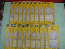 lot de cartes Michelin, lot de 20 - Mic20/040719