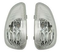 weiß BLINKER LINKS/RECHTS für Außenspiegel Spiegel Renault Master 3 III 2010-
